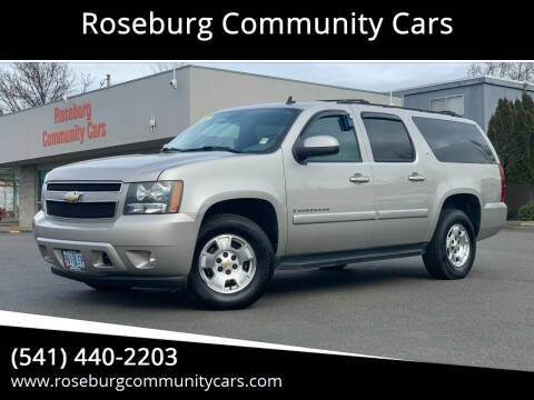 2008 Chevrolet Suburban for sale at Roseburg Community Cars in Roseburg OR