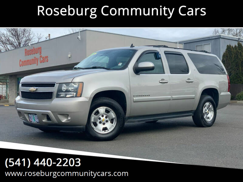 2008 Chevrolet Suburban for sale at Roseburg Community Cars in Roseburg OR
