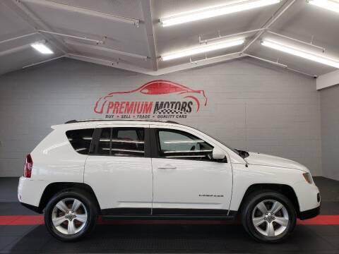 2014 Jeep Compass for sale at Premium Motors in Villa Park IL