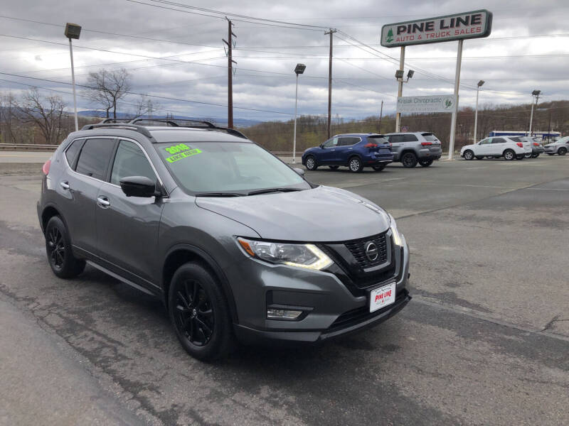 2018 Nissan Rogue for sale at Pine Line Auto in Eynon PA