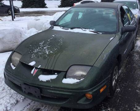 2000 Pontiac Sunfire for sale at D & J AUTO EXCHANGE in Columbus IN