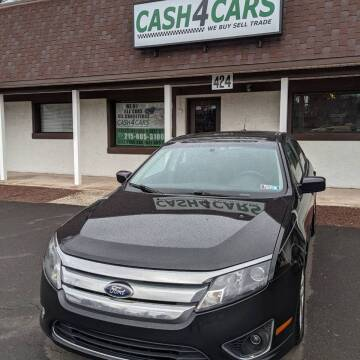 2010 Ford Fusion for sale at Cash 4 Cars in Penndel PA