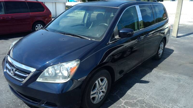 2006 Honda Odyssey for sale at AFFORDABLE AUTO SALES in Saint Petersburg FL