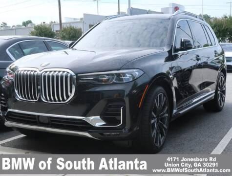 2020 BMW X7 for sale at Carol Benner @ BMW of South Atlanta in Union City GA