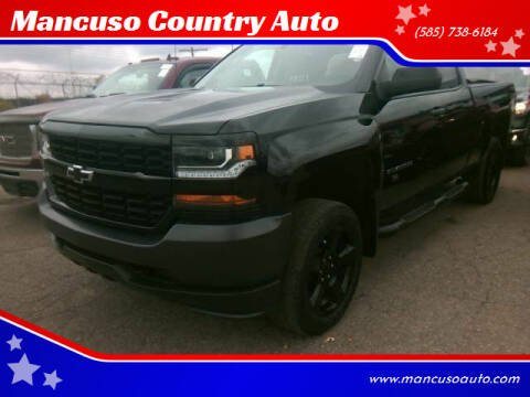 2018 Chevrolet Silverado 1500 for sale at Mancuso Country Auto in Batavia NY