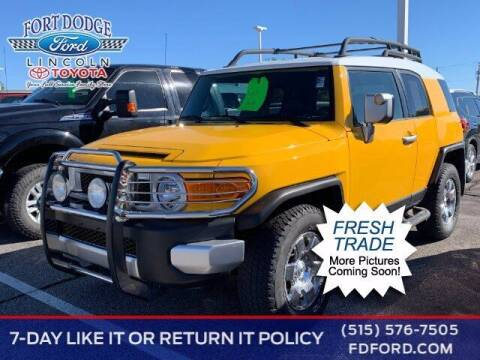 2007 Toyota FJ Cruiser for sale at Fort Dodge Ford Lincoln Toyota in Fort Dodge IA