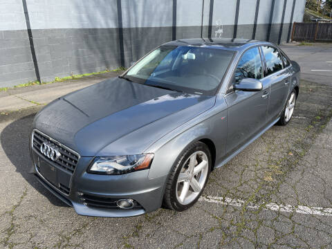 2012 Audi A4 for sale at APX Auto Brokers in Lynnwood WA