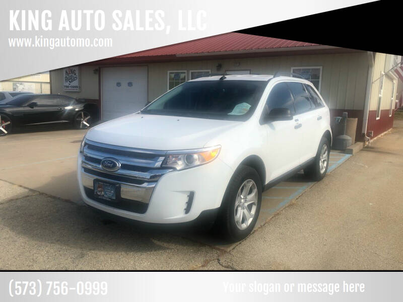 2014 Ford Edge for sale at KING AUTO SALES, LLC in Farmington MO