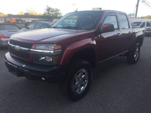 2011 Chevrolet Colorado for sale at 222 Newbury Motors in Peabody MA