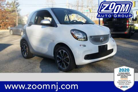 2016 Smart fortwo for sale at Zoom Auto Group in Parsippany NJ