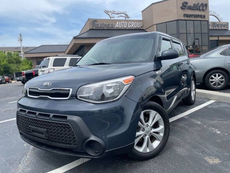 2015 Kia Soul for sale at FASTRAX AUTO GROUP in Lawrenceburg KY