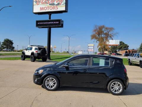 2012 Chevrolet Sonic for sale at Victory Motors in Waterloo IA