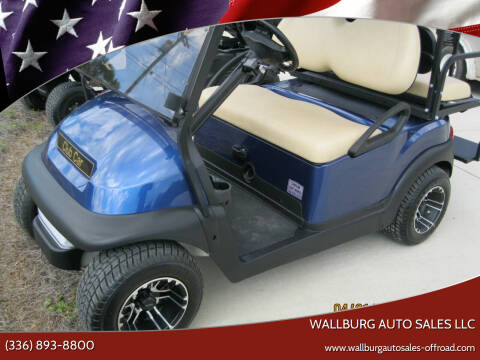 2021 Club Car WL23131-866330 for sale at WALLBURG AUTO SALES LLC in Winston Salem NC
