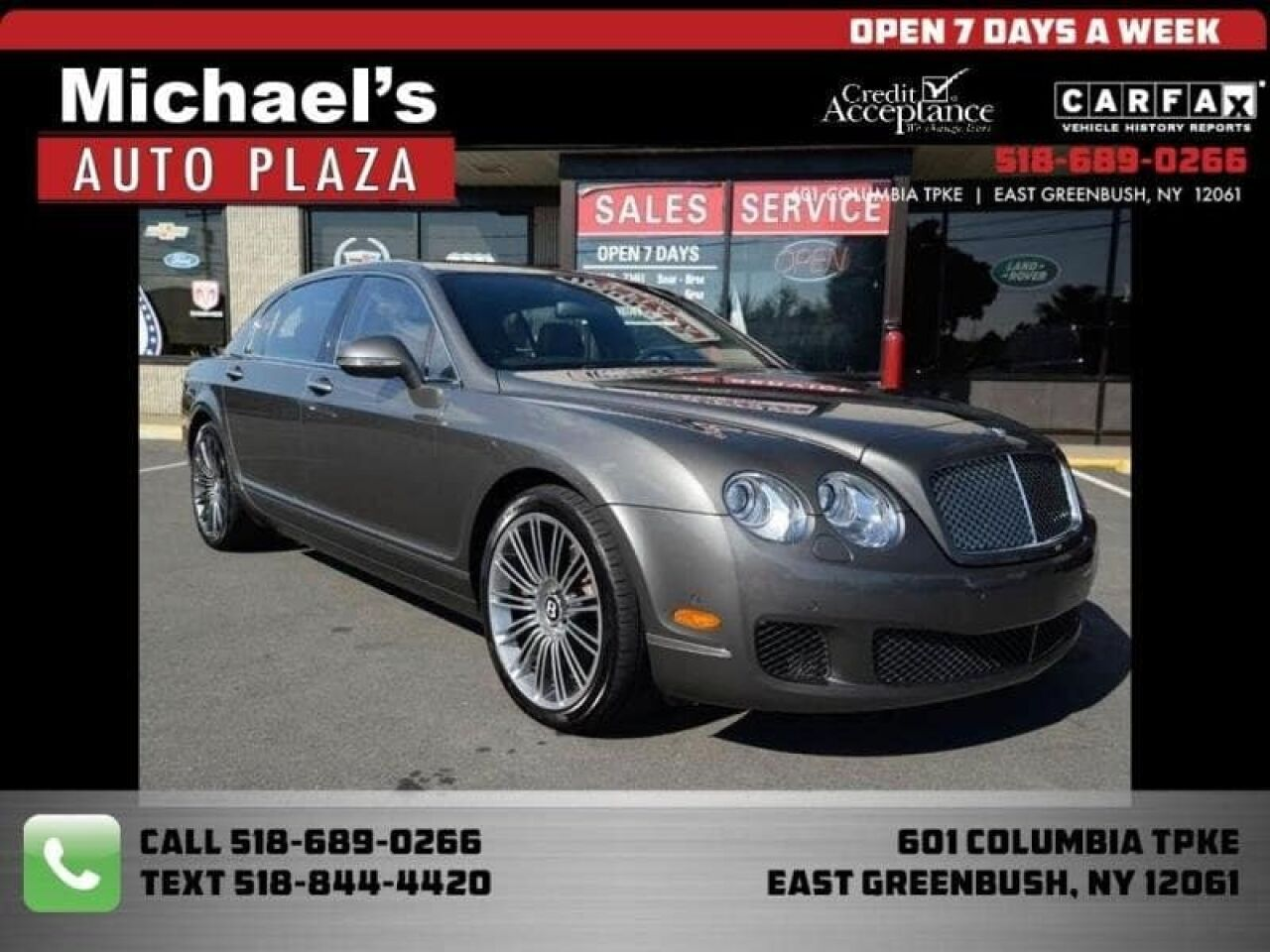 2011 Bentley Continental Flying Spur Speed Flying Spur Speed