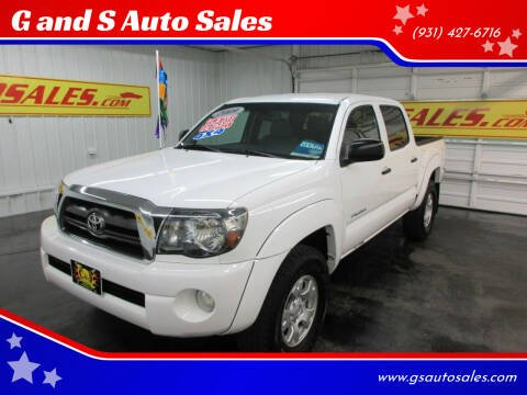 2009 Toyota Tacoma for sale at G and S Auto Sales in Ardmore TN