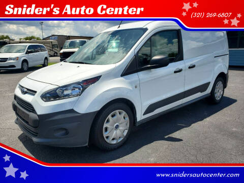 2017 Ford Transit Connect Cargo for sale at Snider's Auto Center in Titusville FL