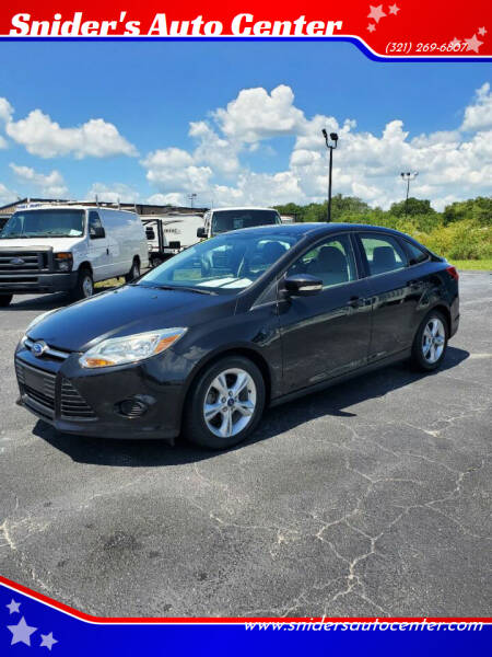 2014 Ford Focus for sale at Snider's Auto Center in Titusville FL