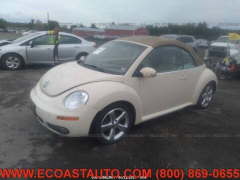 2006 Volkswagen New Beetle Convertible for sale at East Coast Auto Source Inc. in Bedford VA