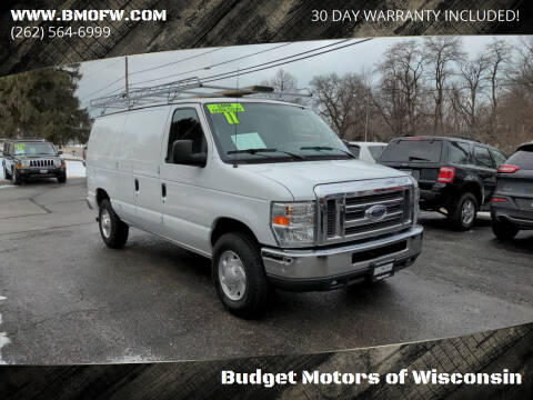 2011 Ford E-Series Cargo for sale at Budget Motors of Wisconsin in Racine WI