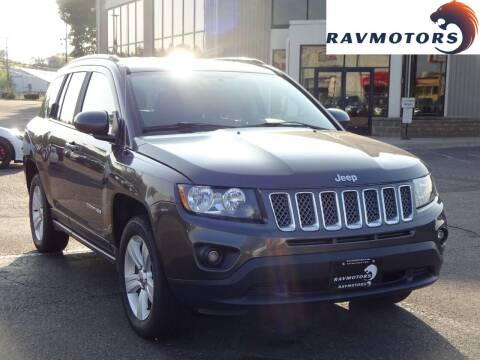 2016 Jeep Compass for sale at RAVMOTORS 2 in Crystal MN