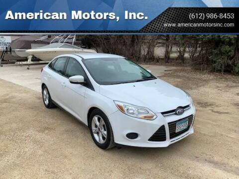 2014 Ford Focus for sale at American Motors, Inc. in Farmington MN