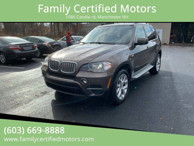 2013 BMW X5 for sale at Family Certified Motors in Manchester NH