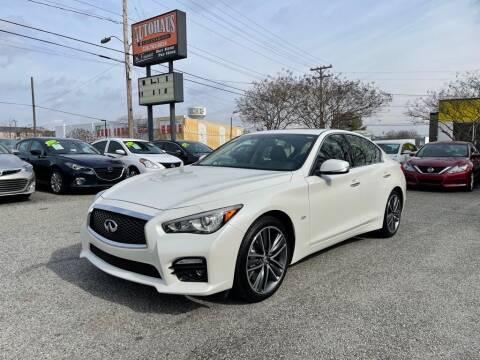 2017 Infiniti Q50 for sale at Autohaus of Greensboro in Greensboro NC