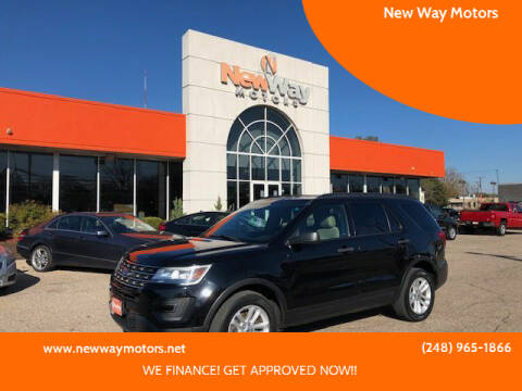 2016 Ford Explorer for sale at New Way Motors in Ferndale MI