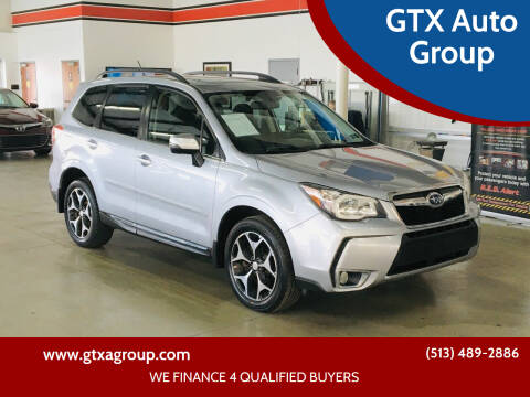2015 Subaru Forester for sale at GTX Auto Group in West Chester OH