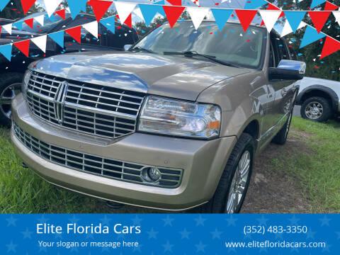 2014 Lincoln Navigator L for sale at Elite Florida Cars in Tavares FL