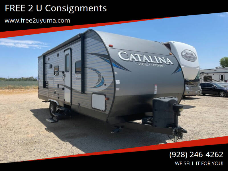 2018 Forest River Catalina for sale at FREE 2 U Consignments in Yuma AZ