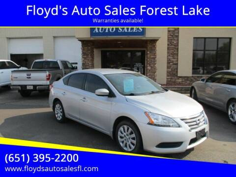 2013 Nissan Sentra for sale at Floyd's Auto Sales Forest Lake in Forest Lake MN