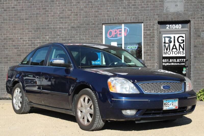 2005 Ford Five Hundred for sale at Big Man Motors in Farmington MN