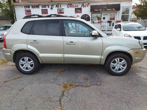 2006 Hyundai Tucson for sale at Class Act Motors Inc in Providence RI