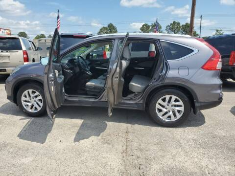 2015 Honda CR-V for sale at Rodgers Enterprises in North Charleston SC