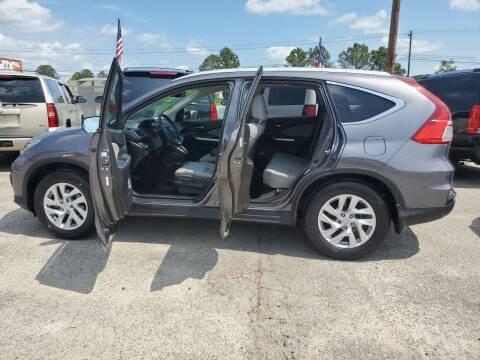 2015 Honda CR-V for sale at Rodgers Enterprises in North Charleston SC