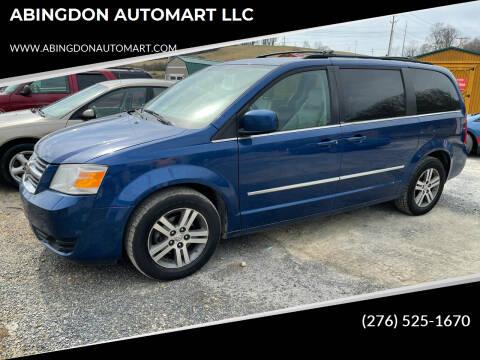 2010 Dodge Grand Caravan for sale at ABINGDON AUTOMART LLC in Abingdon VA
