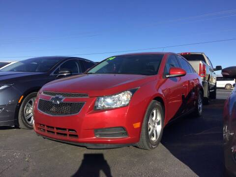 2014 Chevrolet Cruze for sale at SPEND-LESS AUTO in Kingman AZ