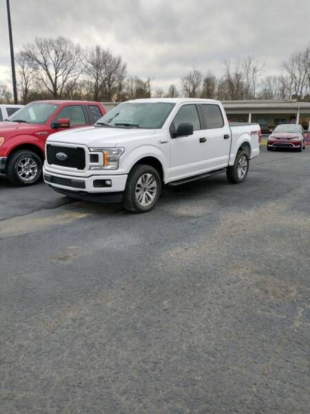 2018 Ford F-150 for sale at McCully's Automotive in Benton KY