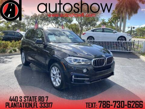 2015 BMW X5 for sale at AUTOSHOW SALES & SERVICE in Plantation FL