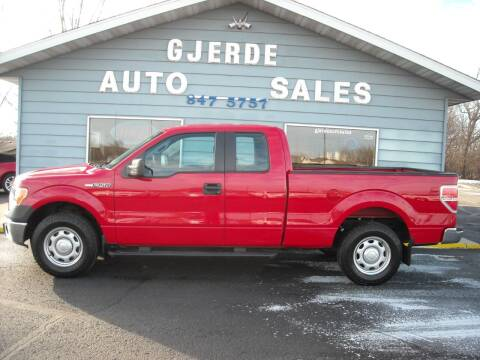 2014 Ford F-150 for sale at GJERDE AUTO SALES in Detroit Lakes MN