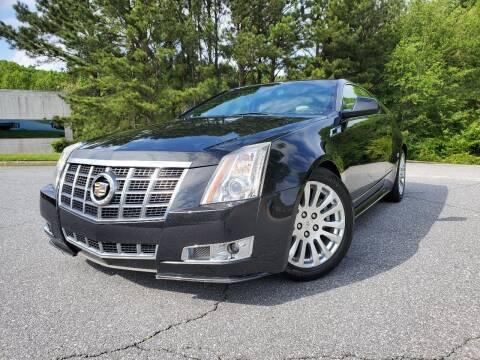 2012 Cadillac CTS for sale at MBM Rider LLC in Alpharetta GA