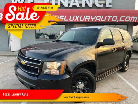 2013 Chevrolet Tahoe for sale at Texas Luxury Auto in Cedar Hill TX