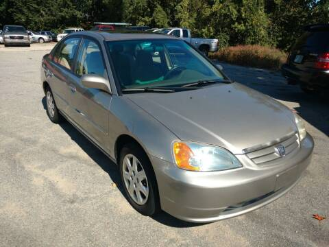2003 Honda Civic for sale at Auto Brokers of Milford in Milford NH