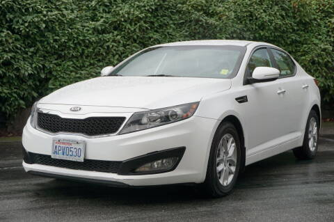 2013 Kia Optima for sale at West Coast Auto Works in Edmonds WA