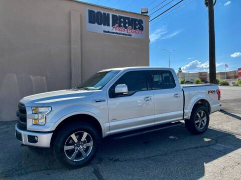 2017 Ford F-150 for sale at Don Reeves Auto Center in Farmington NM