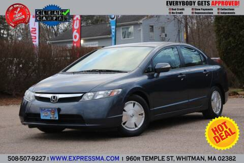 2008 Honda Civic for sale at Auto Sales Express in Whitman MA
