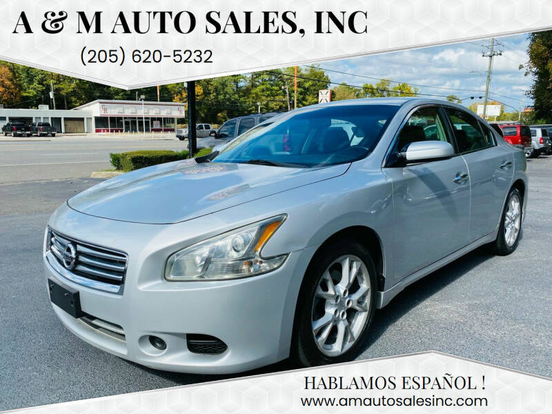 2012 Nissan Maxima for sale at A & M Auto Sales, Inc in Alabaster AL