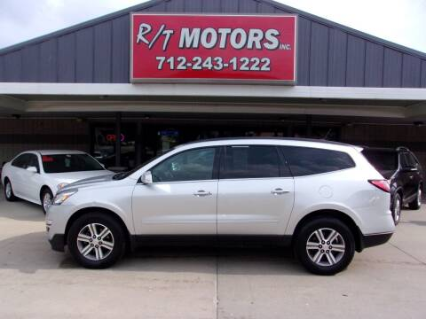 2015 Chevrolet Traverse for sale at RT Motors Inc in Atlantic IA
