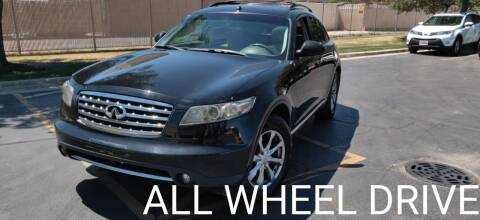 2007 Infiniti FX35 for sale at Nationwide Auto Group in Melrose Park IL